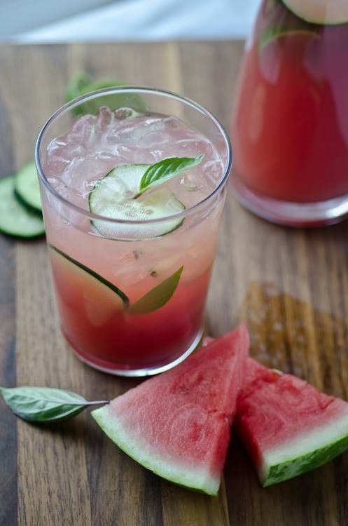 Watermelon cucumber cooler | Scaling Back